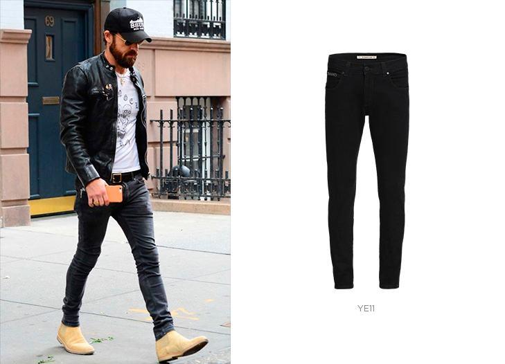Calça jeans super skinny masculino