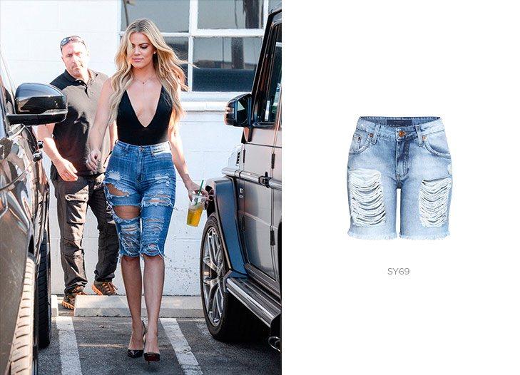khloe kardashian com bermuda jeans