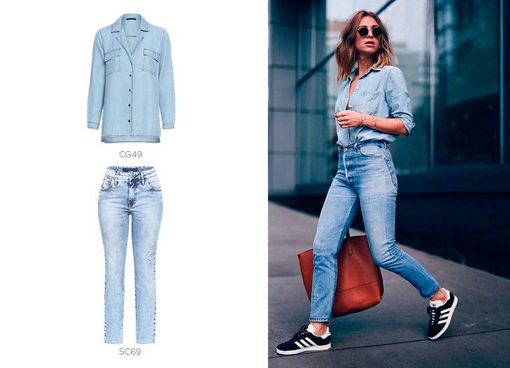 look total jeans damyller