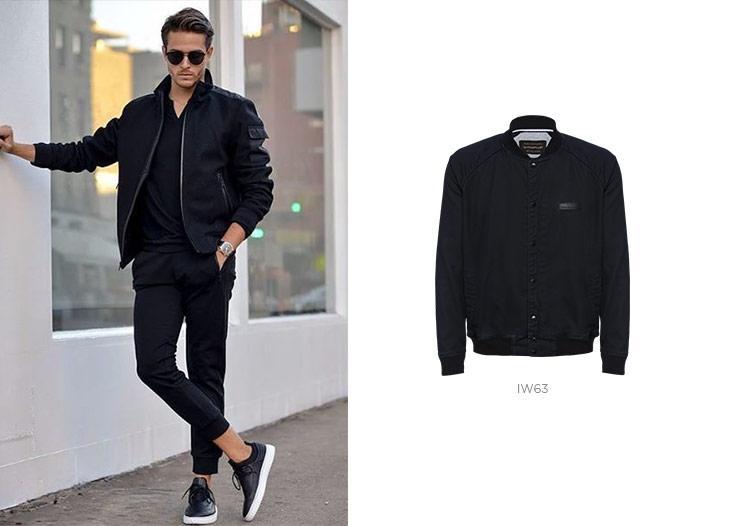 jaqueta bomber masculina