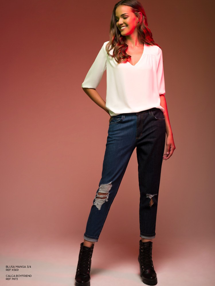 jeans duo color damyller