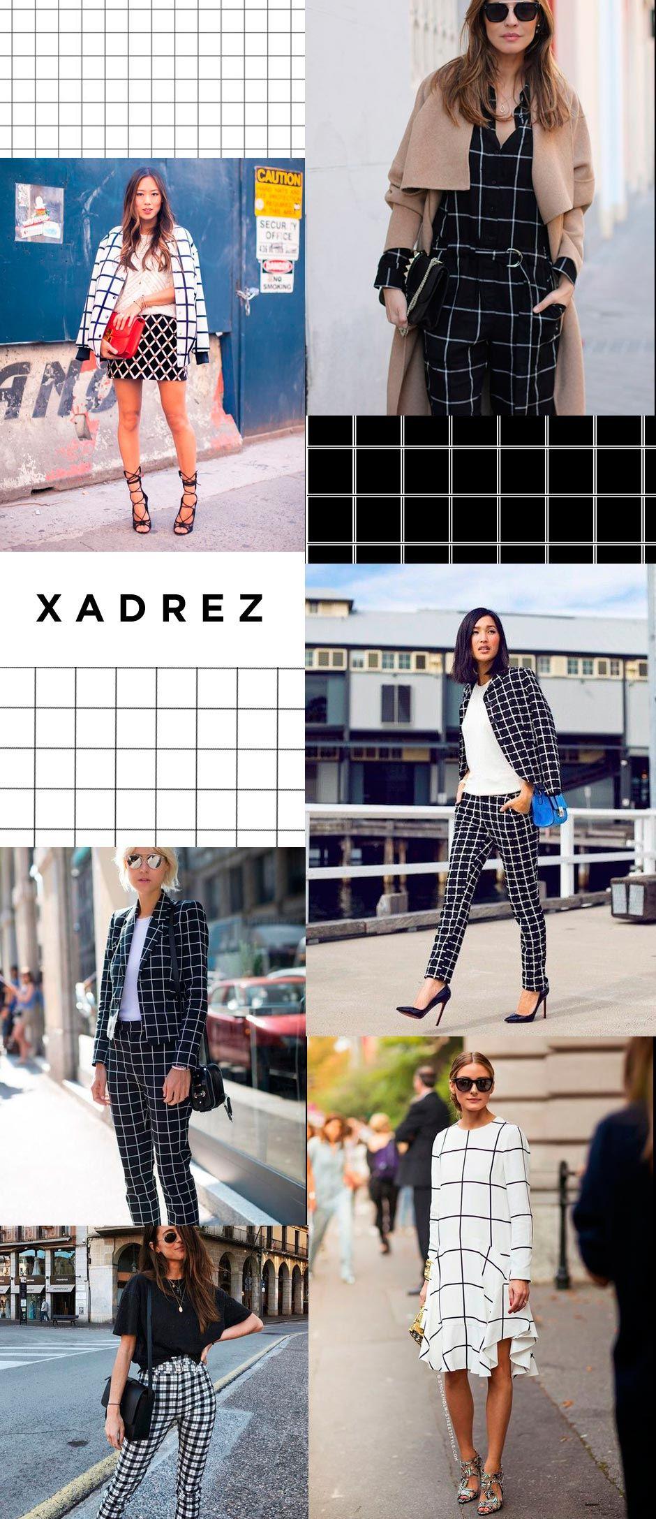 xadrez street style 2018