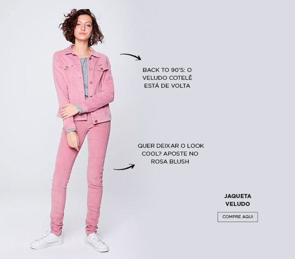 jaqueta veludo damyller