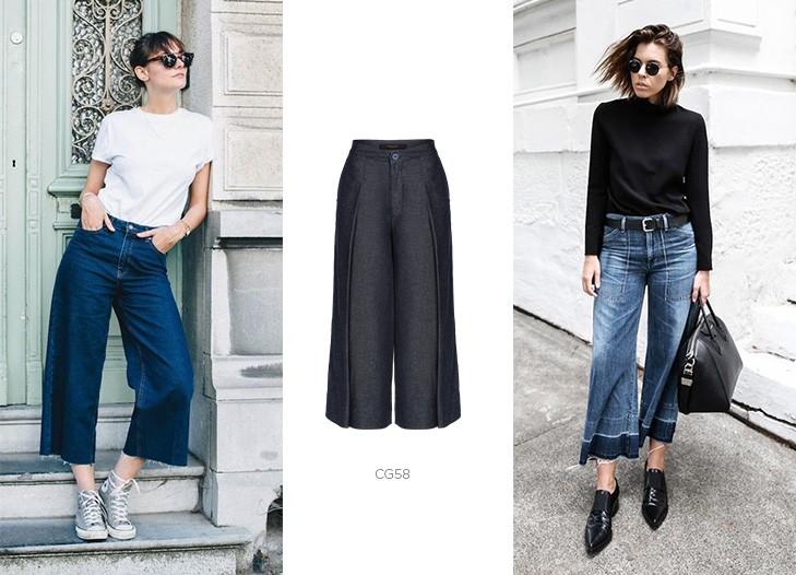 pantacourt jeans damyller
