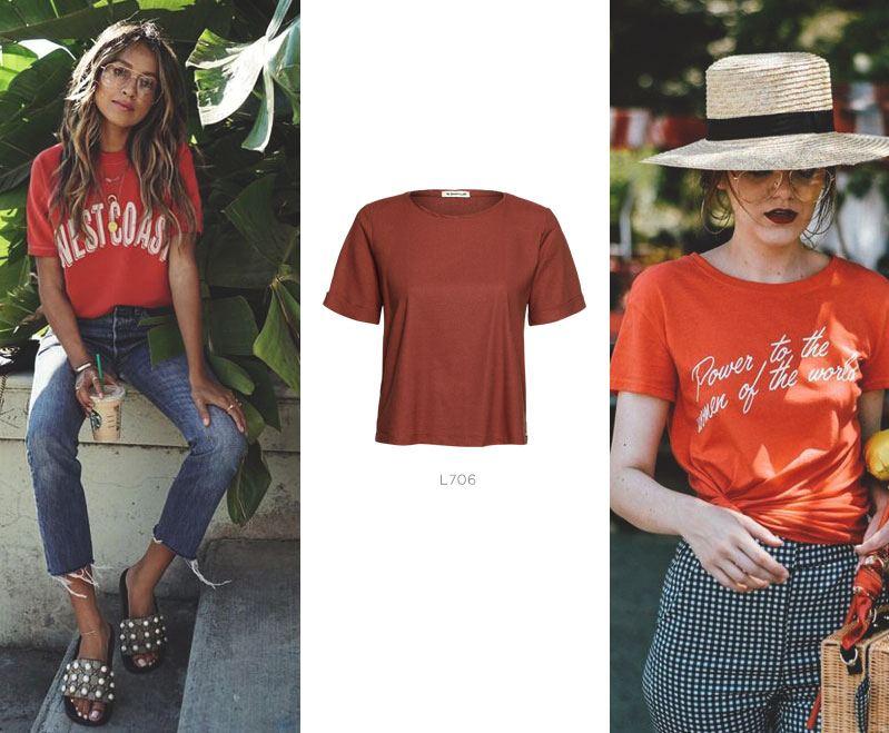 t-shirt vermelha damyller