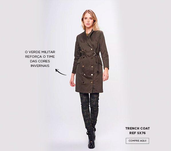 Trench coat militar
