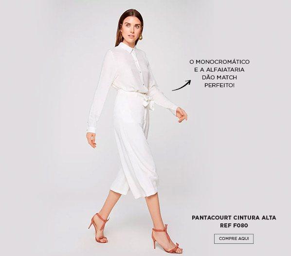 Look monocromatico branco