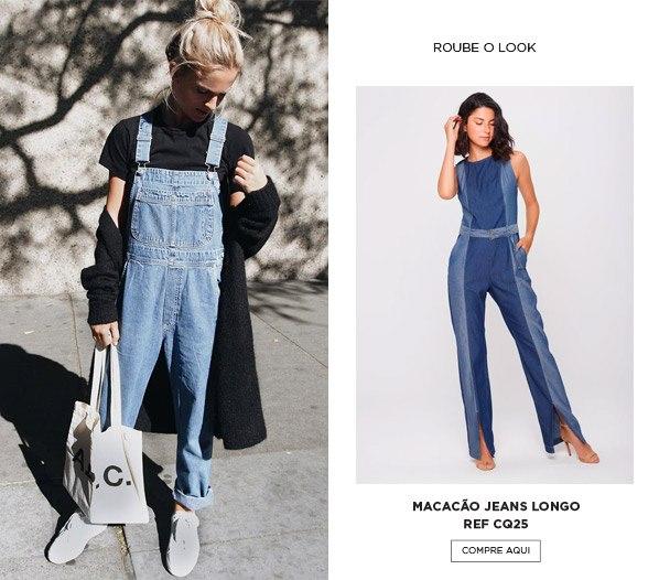 Macacão Duo Jeans para o inverno