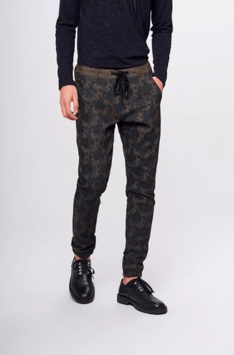 calça jogger masculina camuflada