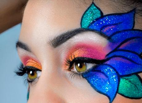 Maquiagem como fantasia para o Carnaval 2014