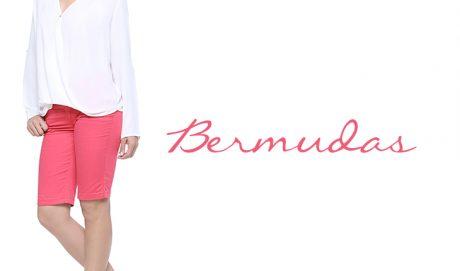 Look para o trabalho no verão: bermuda jeans feminina!
