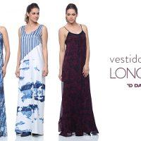 Refrescante e elegante: vestido longo no Verão