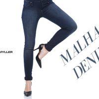 Calça Jeans em Malha Denim!