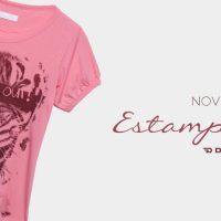 [Novidade!] T-shirt feminina com estampa