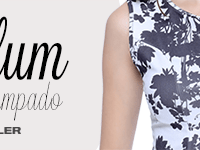 Como usar: top peplum estampado