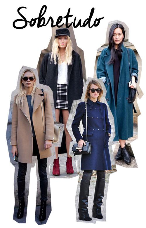 tipos de casacos sobretudo