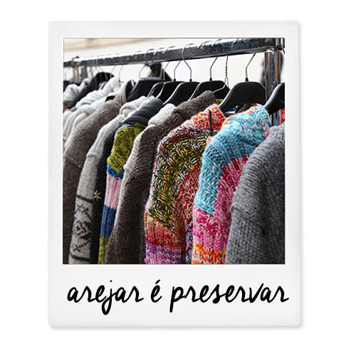 roupas arejadas no guarda roupa de inverno