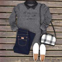 Looks confortáveis para o outono-inverno