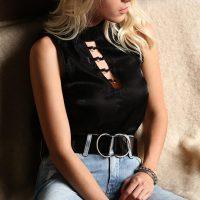 Blusas com decote para produções femininas
