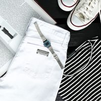 Porque você tem que ter uma calça jeans branca