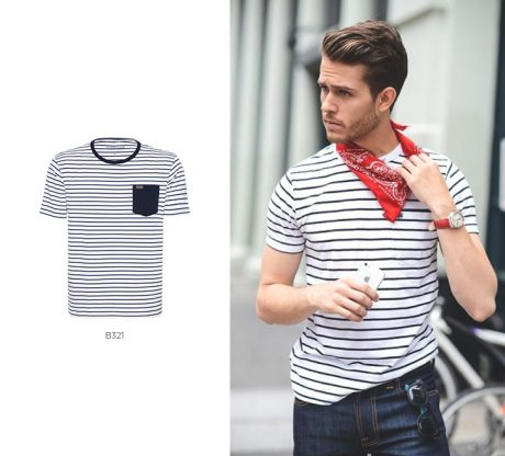 camiseta navy masculina