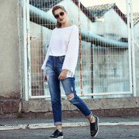 Conheça a moda do mom jeans
