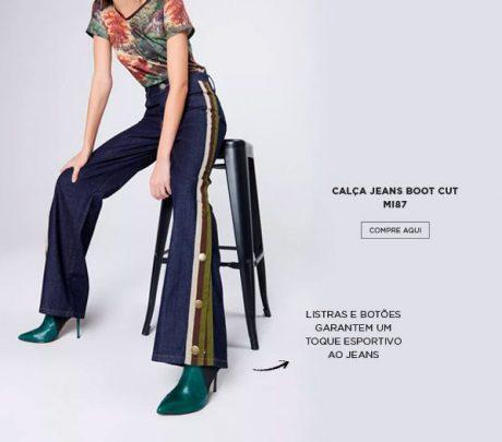 jeans esportivo damyller
