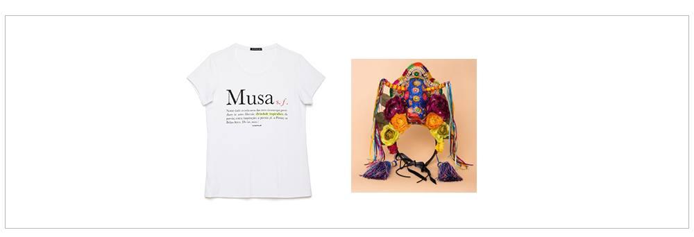 T-shirts e adereços para carnaval