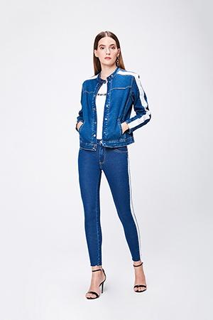 jaqueta jeans feminino