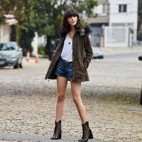 Como usar saias e shorts no inverno
