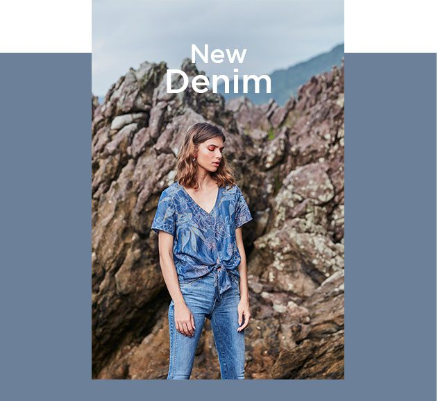 Calça jeans skinny feminina com top jeans