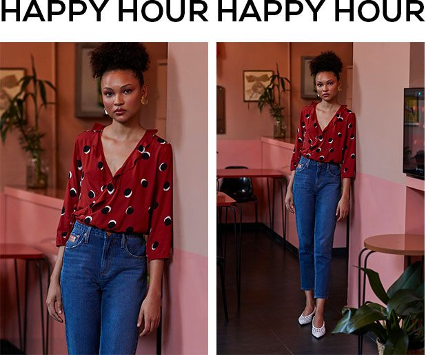 mom jeans para happy hour