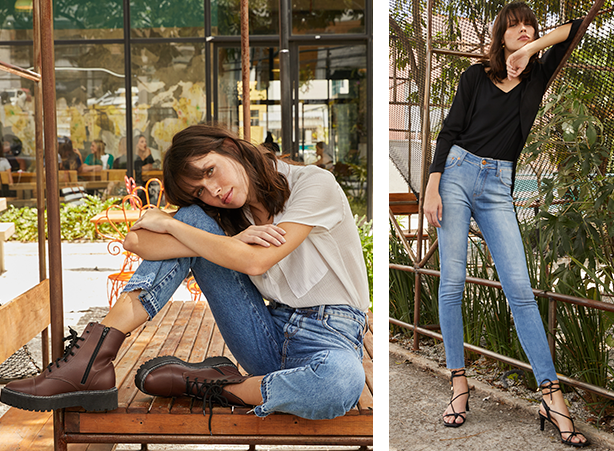 calça jeans atemporais